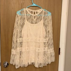 Altar'd State Lace Top